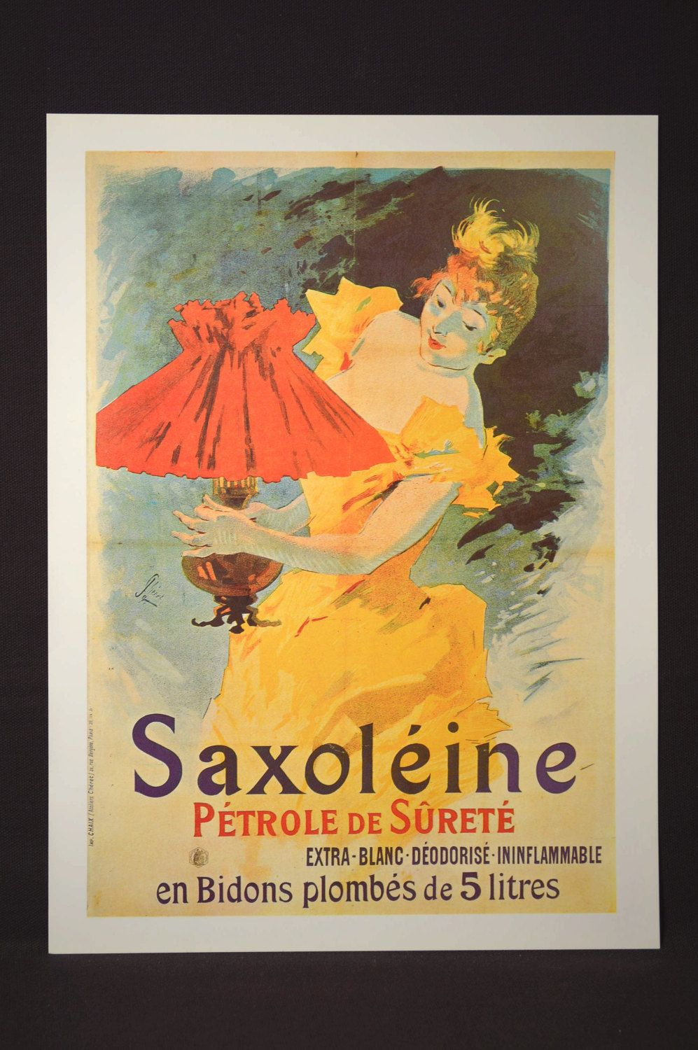 French Ad Poster Paris Advertisement Print Wall Art Fashion | Wall ...