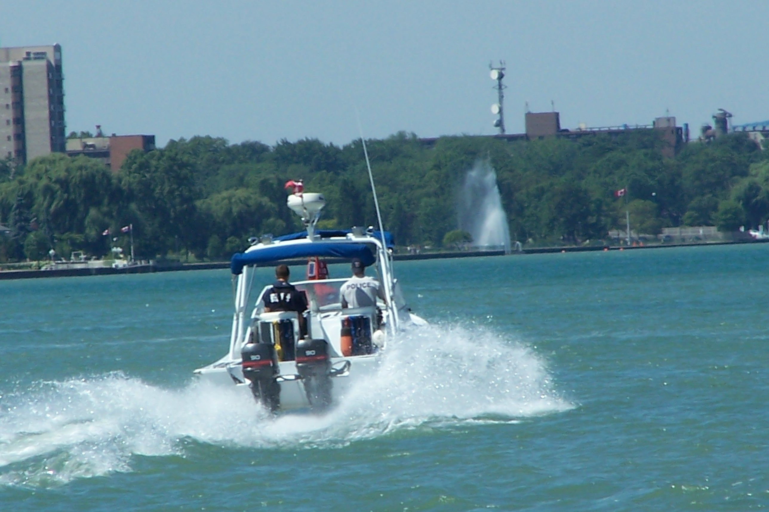 "Circa 2008 WPS Marine Unit the ""Protector"" Windsor"