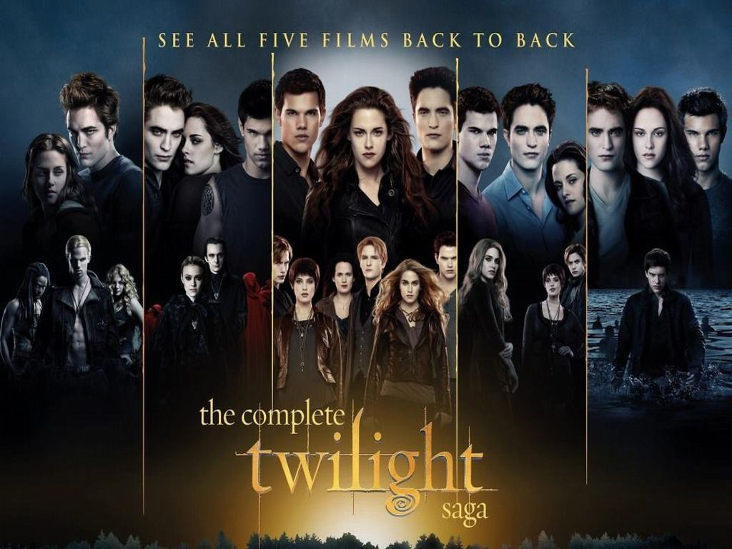 The Twilight Saga Is A Series Of Five Romance Fantasy Films From Summit  Entertainment Based On