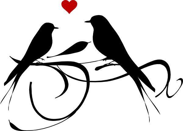 Love Bird Silhouette Google Search Clip Art Printables Bird Silhouette Clip Art Art