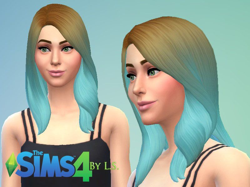 Ladyshadows Ombre Hairstyles Set Sims 4 Custom Content Ts4 Cc