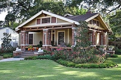 Fully restored 1918 craftsman bungalow these sears for Craftsman style bungalow for sale