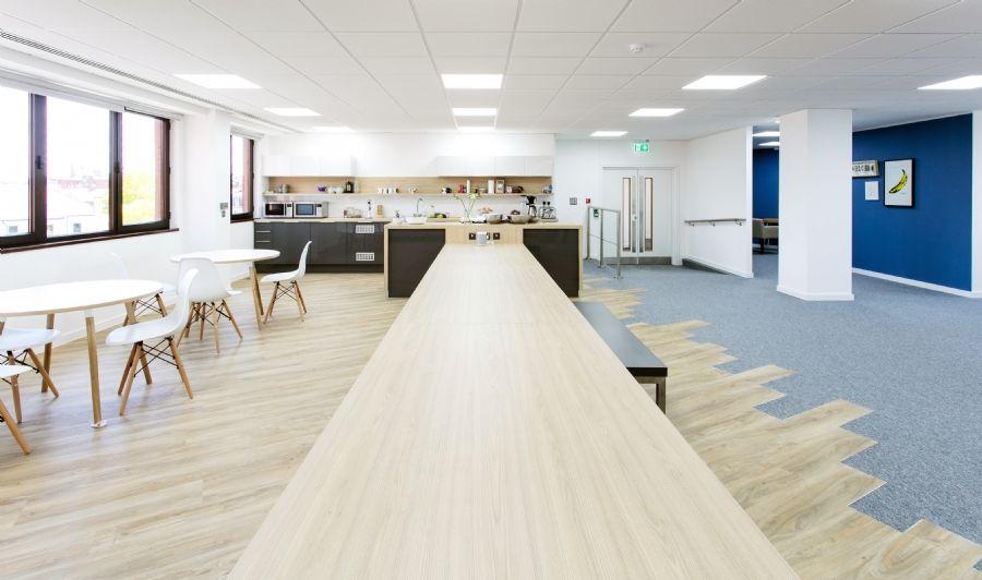 Interaction Case Study | Office Design | Bristol | Sift Digital | Kitchen  Design | Cool