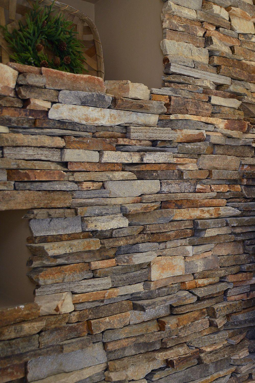Ledgestone Fireplace Surround Interior Stone Veneer Mantel Floating Shelves Natural Stone Fireplaces Stone Wall Design Stone Cladding
