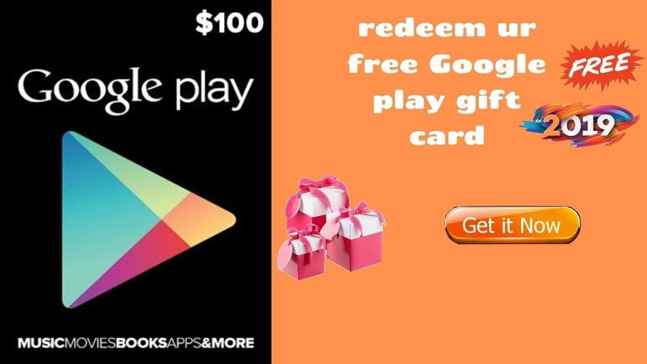 Get A 100 Google Play Gift Card Free 2020 Latest Offer Google Play Gift Card Amazon Gift Card Free Gift Card Giveaway