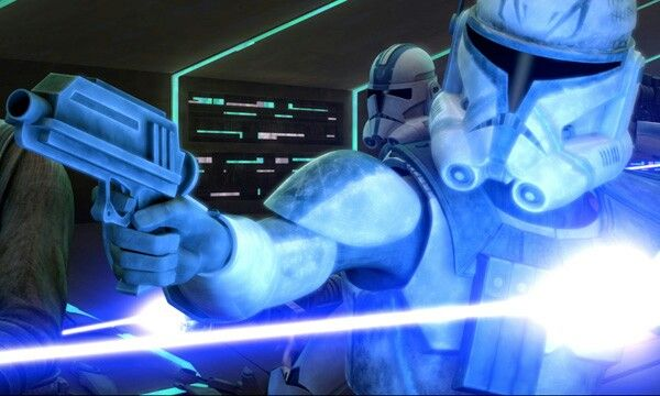 Clone captain Rex and 501st