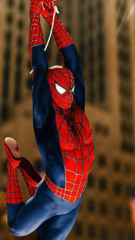 Spiderman iPhone Wallpaper Free GetintoPik Spiderman