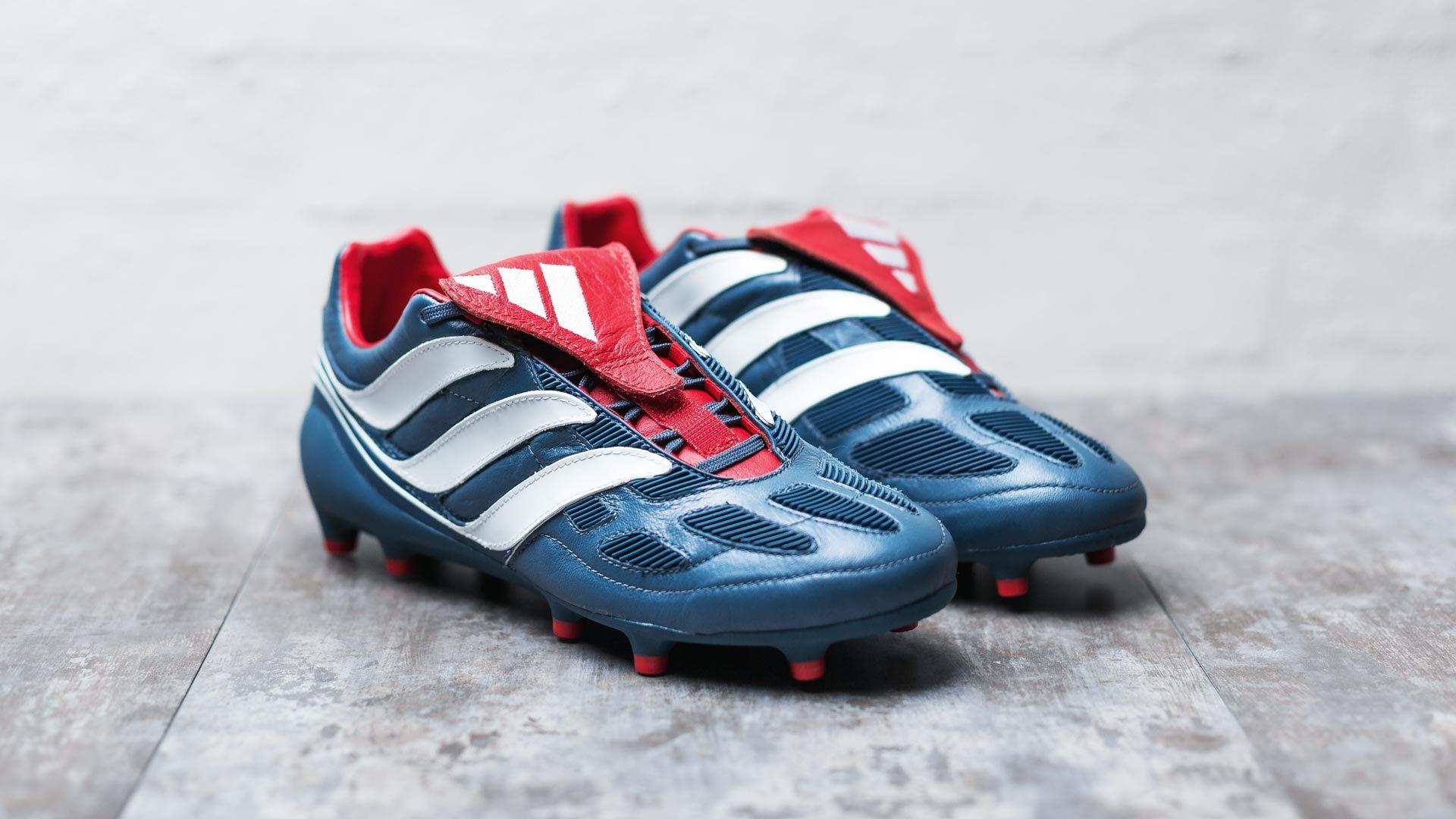 De Verdad subterraneo puerta  Botas de fútbol adidas present Predator Precision remake 2017 em 2020    Adidas predador