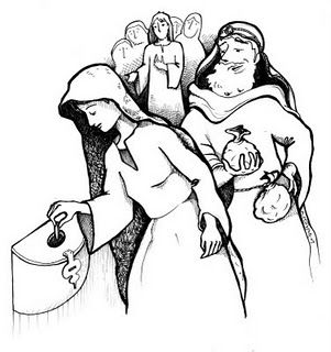 Widow S Mite Coloring Page The Widow S Offering Sunday School