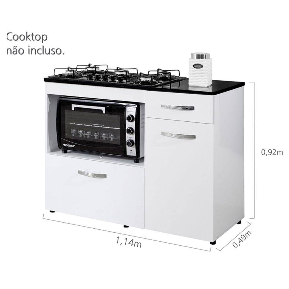 Balcao Cooktop Violeta Basculante Kaiki Moveis Balcao Para Cooktop Cozinha De Cabana E Bancada Cozinha