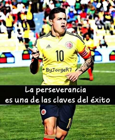 La Perseverancia es una de las claves del éxito Frases De Futbol a967dcba822d7