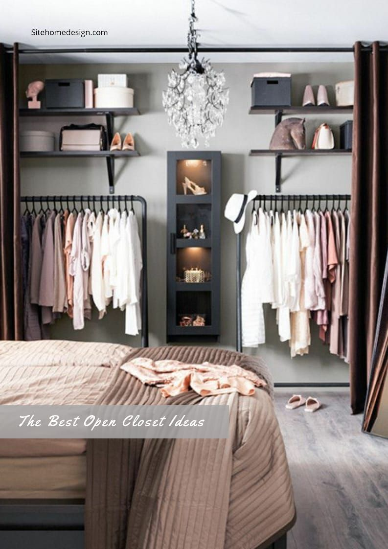 25 Beautiful Open Wardrobe Suggestions For Advanced Home