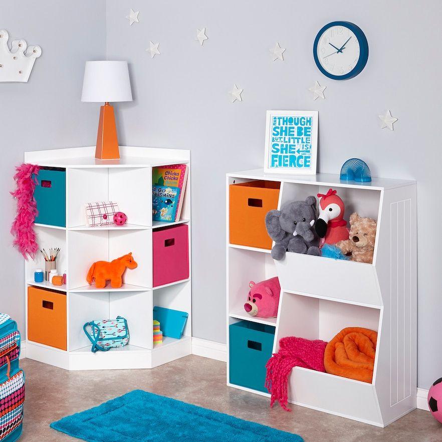RiverRidge Kids Cubby Storage Cabinet images