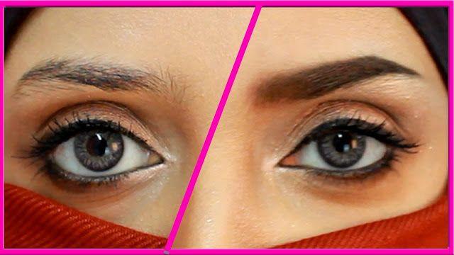 الحواجب من أحد مقومات الجمال ولكن بعض النساء لديها حواجب خفيفة وهذا يعكس الشكل الظاهري لوجه المرأة وهناك مكونات طبيعية Brows How To Look Better Natural Face