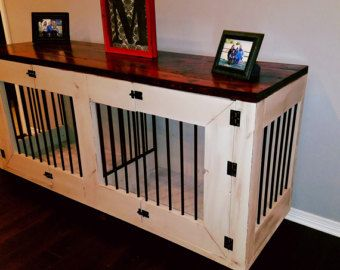 wooden dog crate furniture. Hand Crafted Dog Kennel, Wood Crate, Wooden Crate Furniture