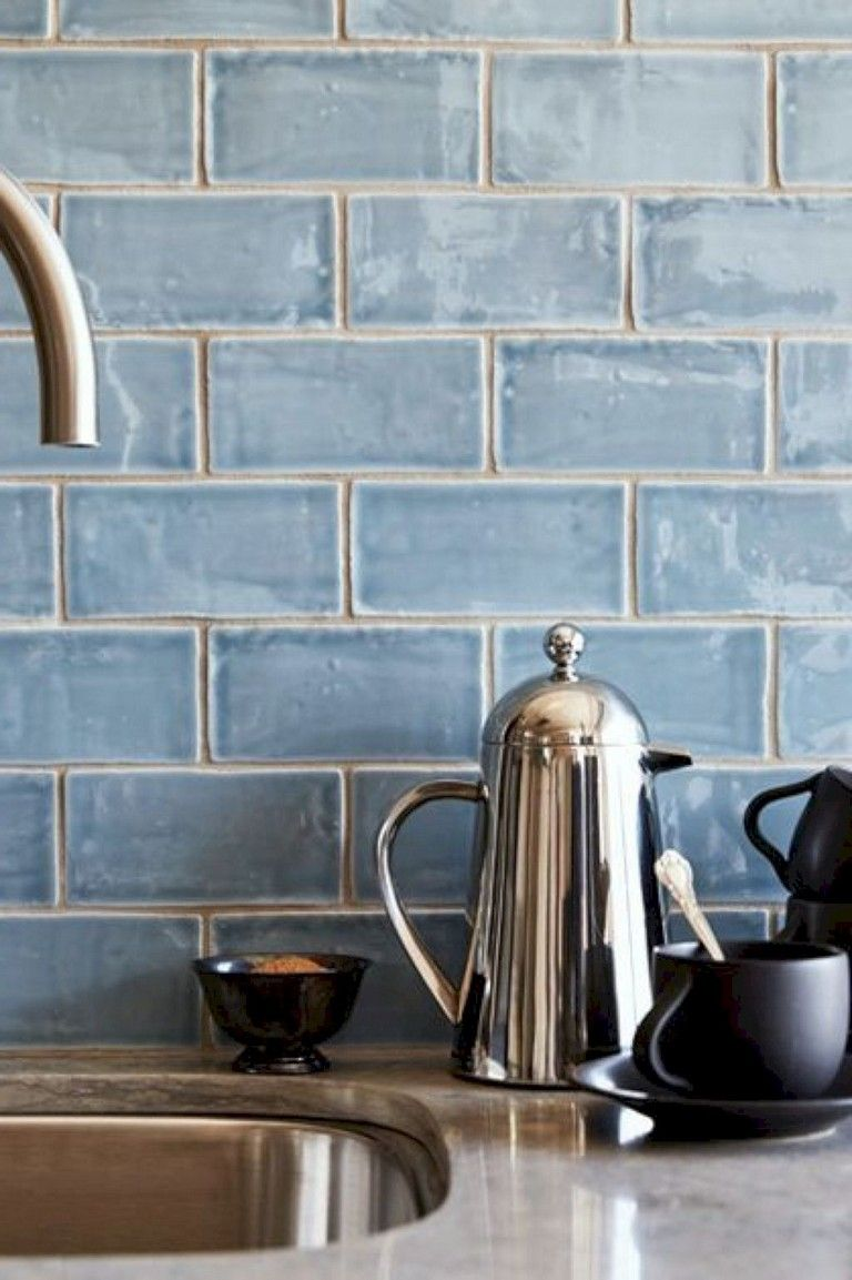 58+ Top Kitchen Backsplash Makeover Ideas #kitchenbacksplash