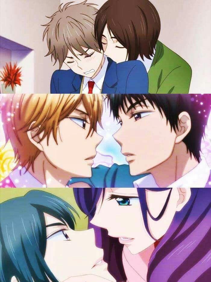 Shinomiya x Mutsumi    Nanashima x Igarashi    and... the girl I don't like and Serinuma Kae
