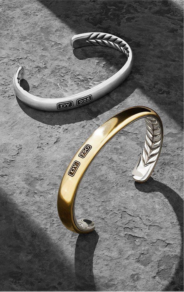 Designer Jewelry For Men David Yurman Mens Gold