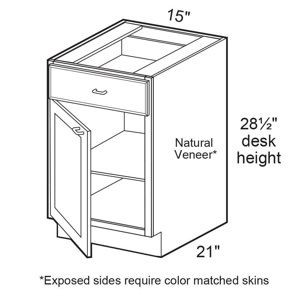 Home Decorators Collection Assembled 15x28.5x21 in. Desk Height ...