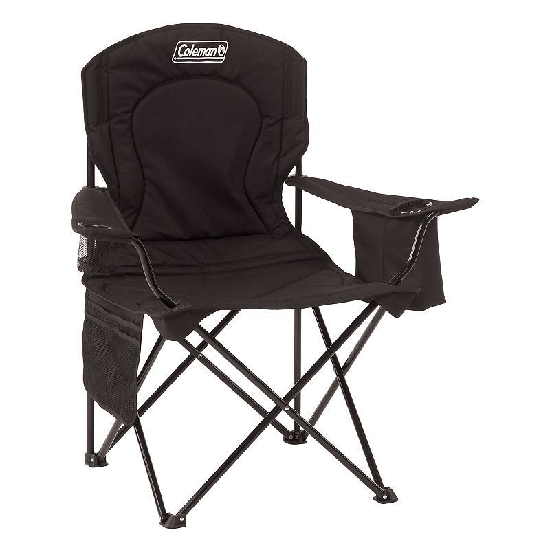 Coleman Oversize Quad Chair with Cooler images