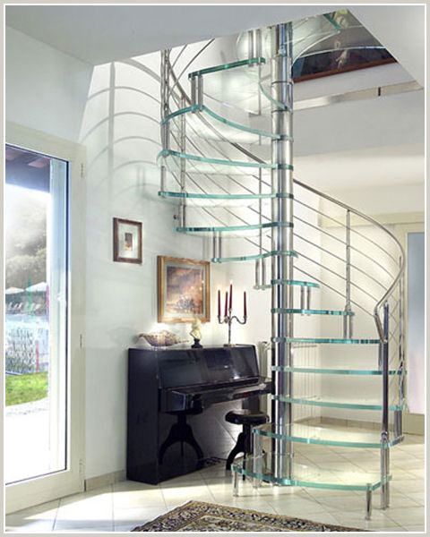 Best Stainless Glass Spiral Modularstairs Stairs By 400 x 300