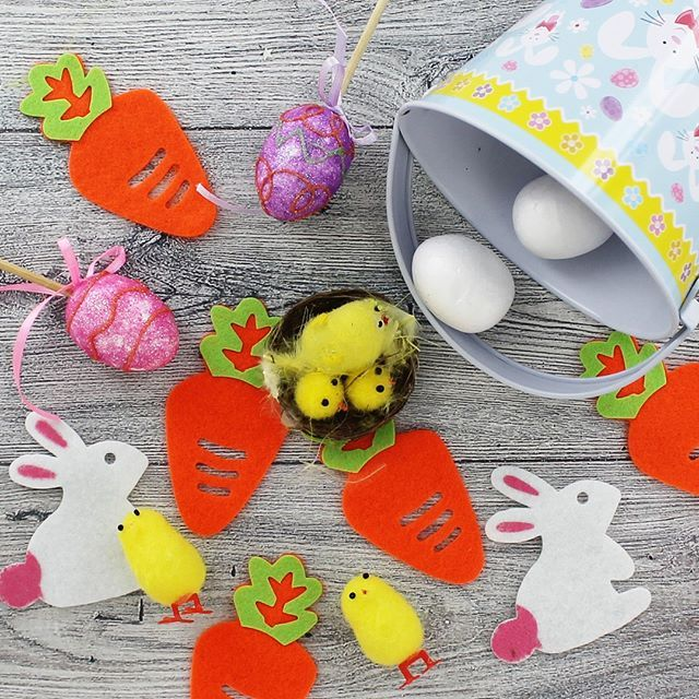 Easter Craft #easter #eastercraft #theworks #theworksstores #easterchick #easteregg #easterbonnet    #Regram via @theworksstores