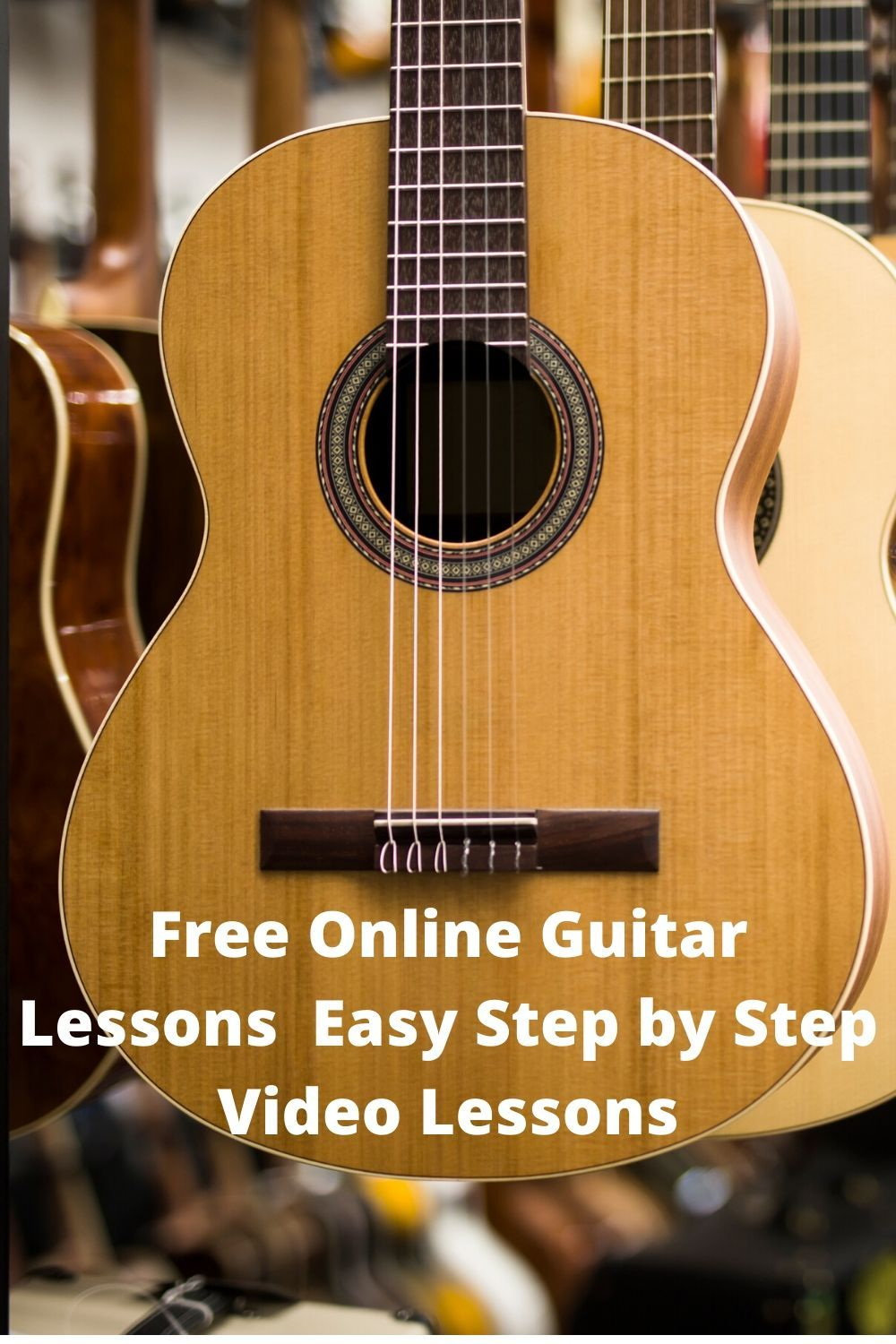 Free Online Guitar Lessons Easy StepbyStep Video