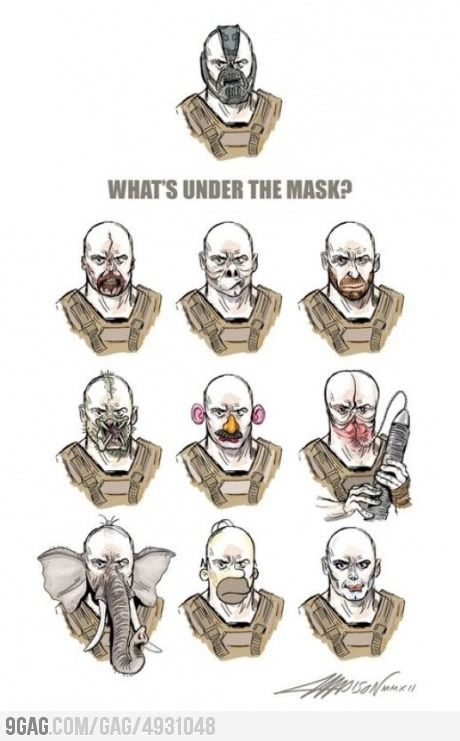 Detrás de la mascara