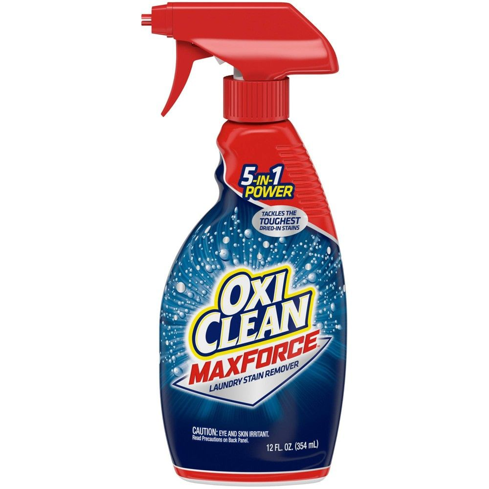 Oxiclean Maxforce Laundry Stain Remover Spray 12 Fl Oz Trong 2020