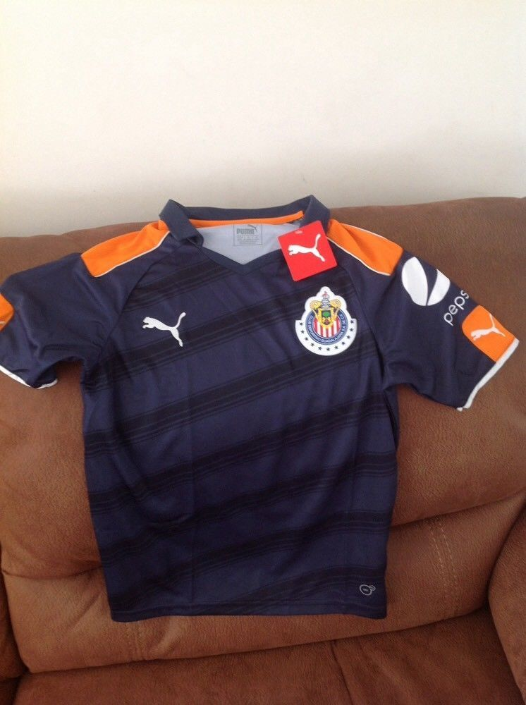 b7aae102e65 puma chivas de guadalajara mexico soccer jersey NWT size L youth | Sports  Mem, Cards & Fan Shop, Fan Apparel & Souvenirs, Soccer-International Clubs  | eBay!