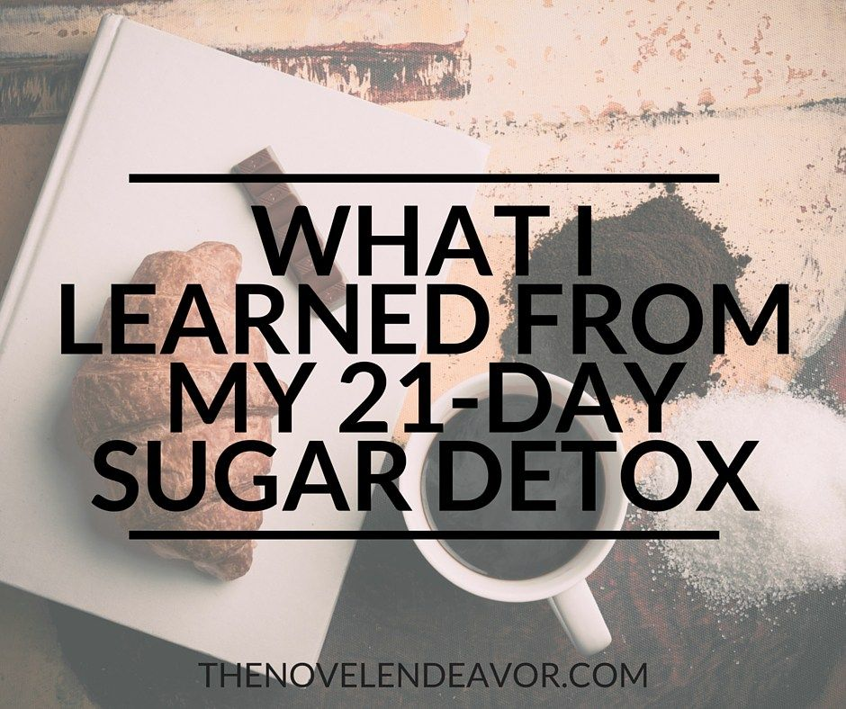 What I Learned from My 21 Day Sugar Detox:http://www.thenovelendeavor.com/2016/04/learned-21-day-sugar-detox/