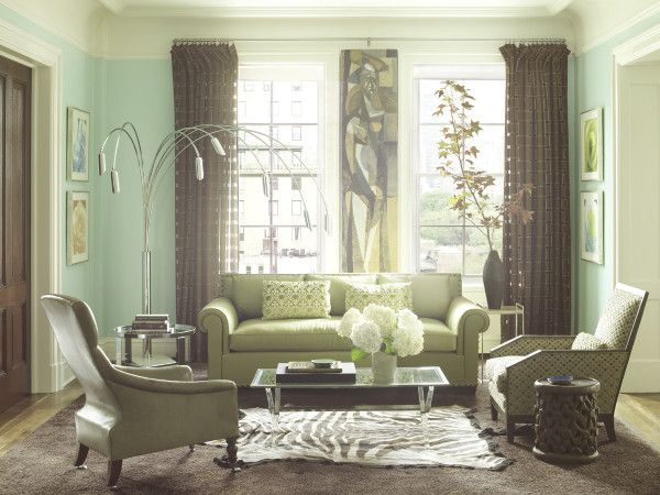 Mint Green Wall Mint Living Rooms