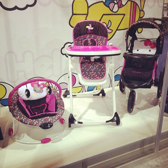 Baby Trend Is Introducing A Hello Kitty Line That Includes Bouncers High Chairs Strollers Car Seats And More