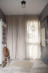 Garderobe Ideen für Flur Einrichtung Dekoidee Vorhang Haustüre Verschönerung-#dekoidee #Einrichtung #garderobe #hausture #ideen #verschonerung #Vorhang #flurdekoration
