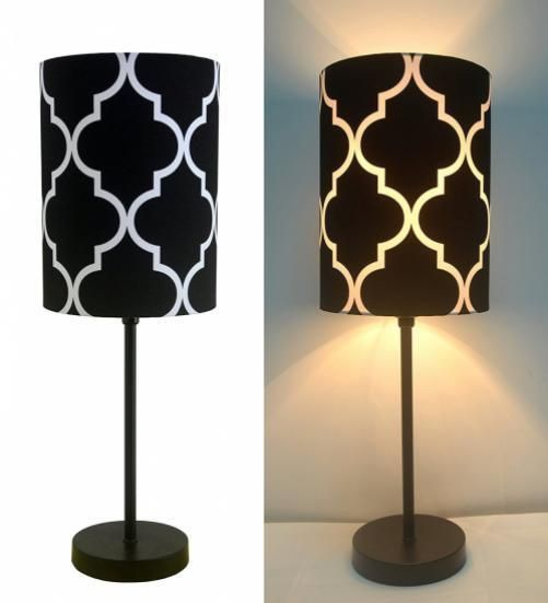 Mini Table Lamp With Metal Base For Living Room Indoor Desk Lamps Custom Lamp Bedroom Review