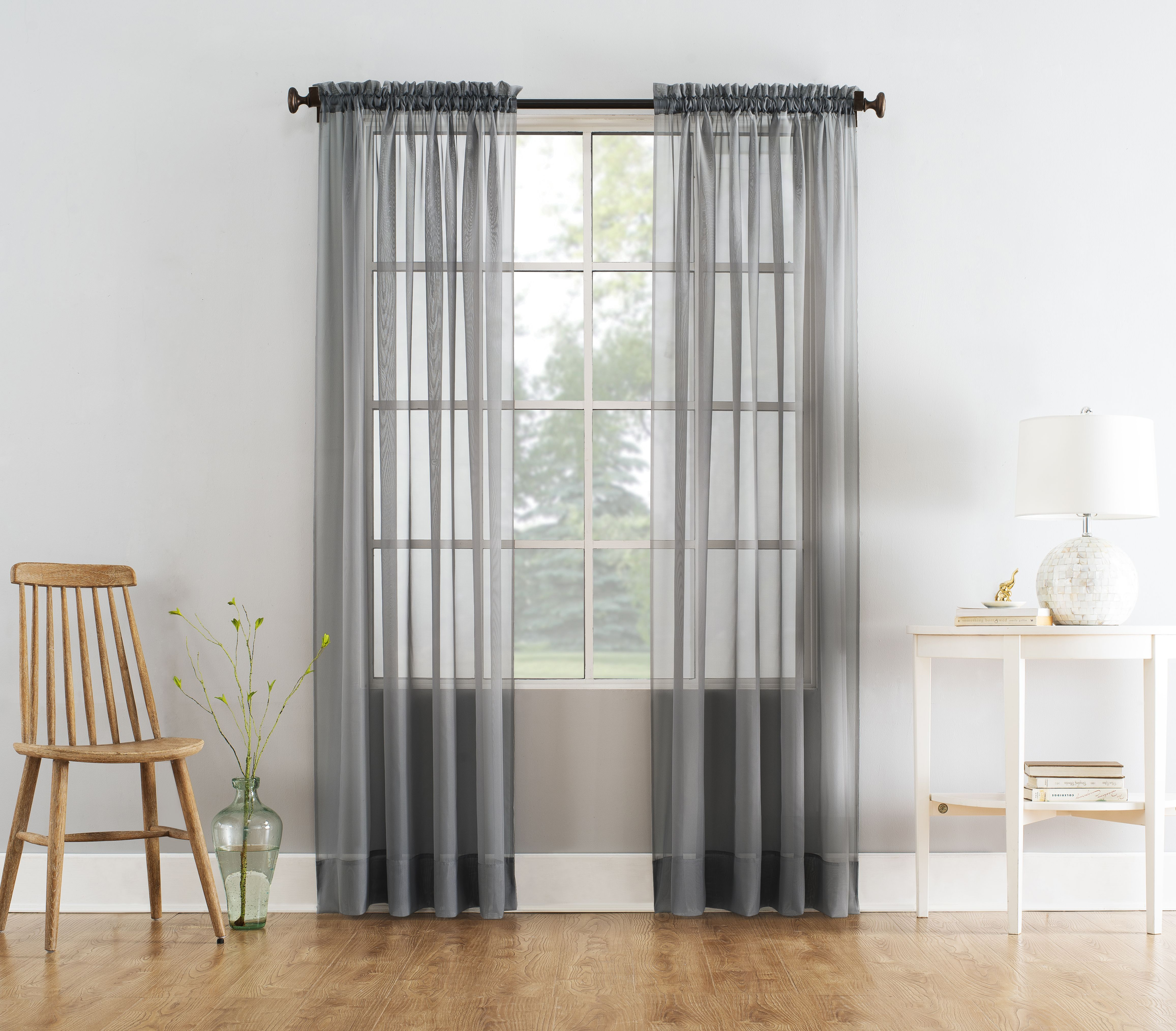 Home Voile Curtains Panel Curtains Sheer Curtain Panels