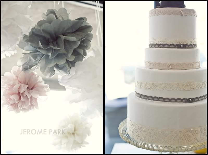 lace & pearls .. inspiration for my future wedding cake