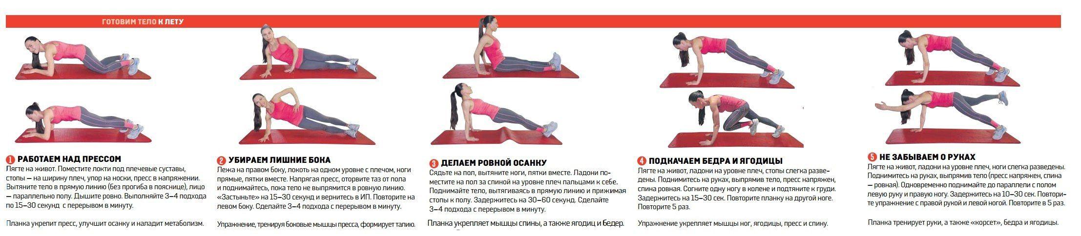 Как с помощью физических упражнений сбросить вес
