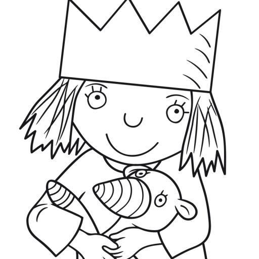 Kikaninchen Alle Ausmalbilder Malvorlagen Fur Kinder Kleine Prinzessin Ausmalbilder Prinzessin