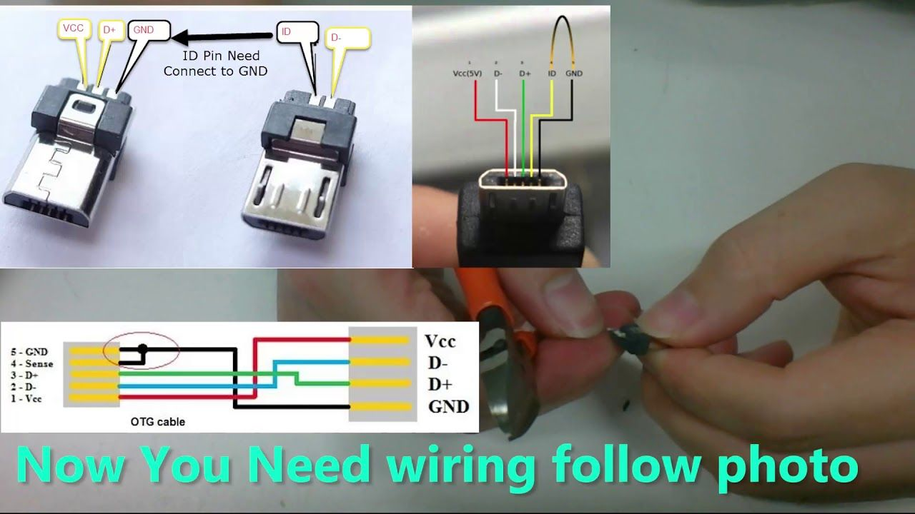 This Video Show You How To Hand Made A Usb Otg For Smartphone This One I Made A Usb Otg Mini Usb To Micro Usb Hoping It S Useful For You Gu