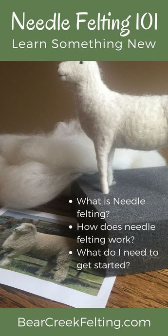 What is Needle Felting?