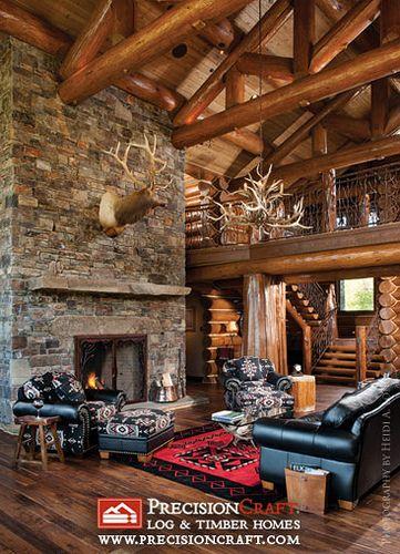 Luxury Interior Log Homes