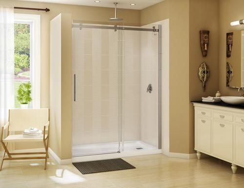 Maax 174 60 Quot Halo Alcove Shower Kit With Door And Base
