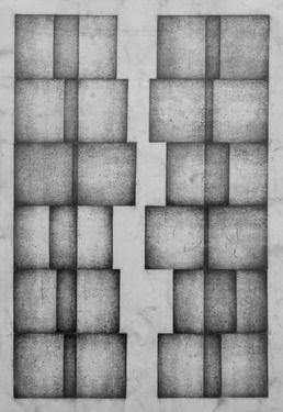 "Saatchi Online Artist Nico Kok; Drawing, ""Moved squares"" #art #WangechiMutu"
