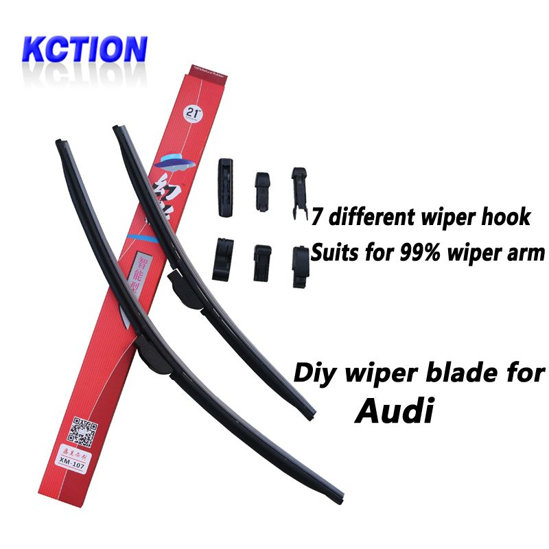 Free Shipping Buy Best Kction Car Windshield Wiper Blade For Audi A1 A3 A4 A6 A7 A8 Q3 Q5 Q7 S8brush Car Windshield Wipers Wiper Blades Windshield Wipers