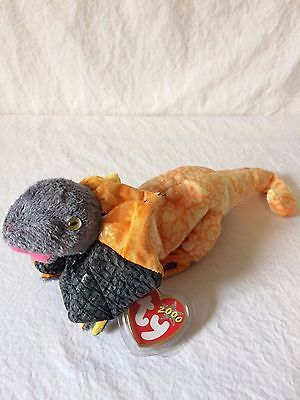 Ty Beanie Baby Slayer - (Slayer the Bearded Dragon Lizard