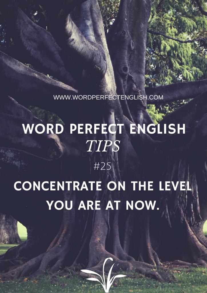 Word Perfect English Tip #25