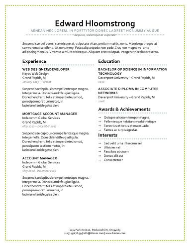cleanpresent yourself resume templates pinterest