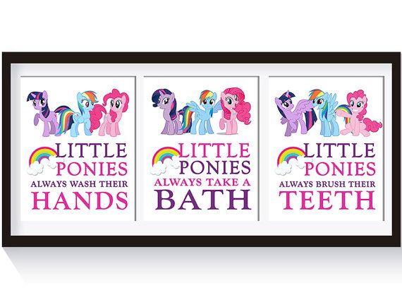 Exceptionnel My Little Pony Bathroom Decor Girls Bathroom Decor