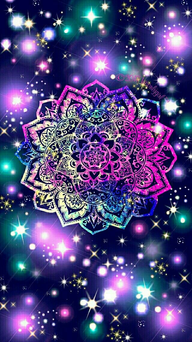 Namaste Sparkle Galaxy Iphone Android Wallpaper I Created For The
